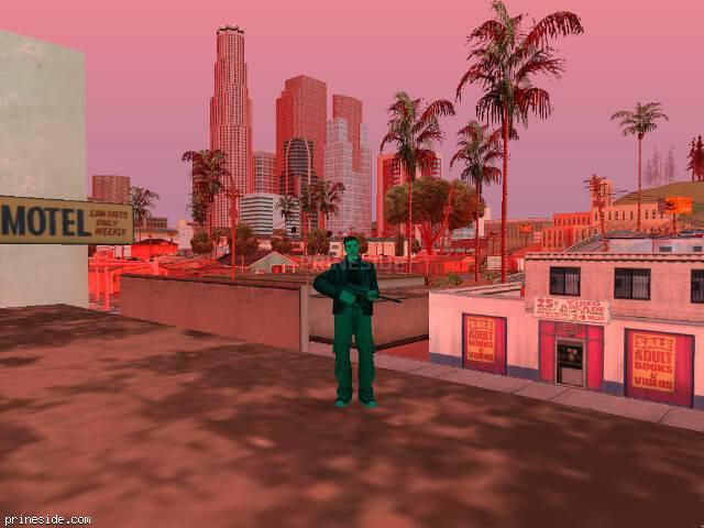 Просмотр погоды GTA San Andreas с ID 209 в 14 часов