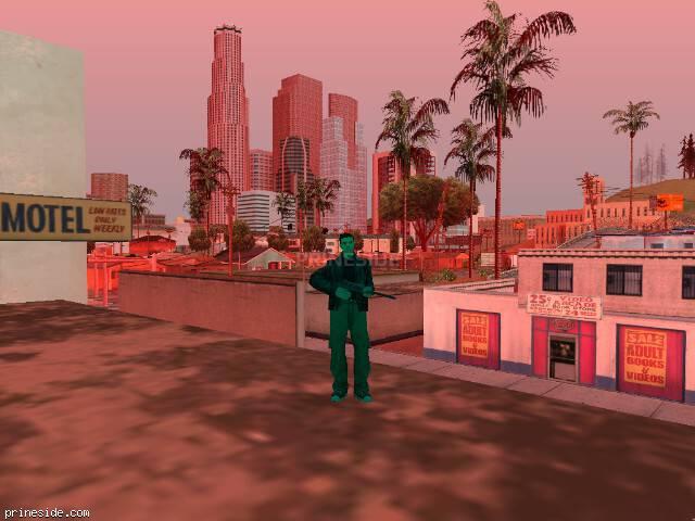 Просмотр погоды GTA San Andreas с ID 209 в 15 часов
