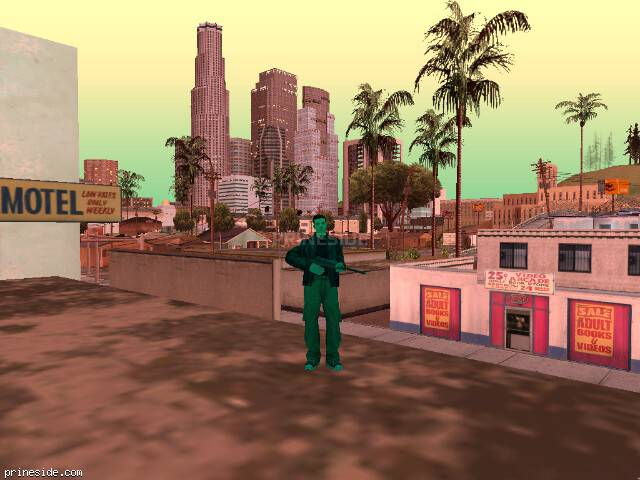 GTA San Andreas weather ID 209 at 20 hours