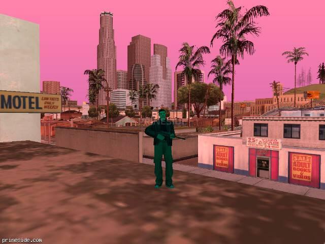 Просмотр погоды GTA San Andreas с ID 210 в 12 часов