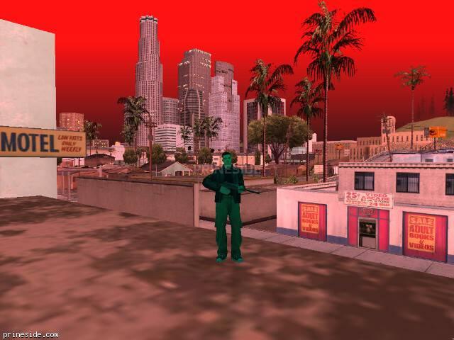 Просмотр погоды GTA San Andreas с ID 211 в 20 часов