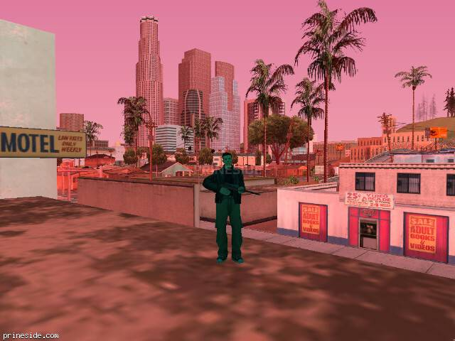 GTA San Andreas weather ID -300 at 16 hours