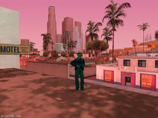 Просмотр погоды GTA San Andreas с ID 724 в 17 часов