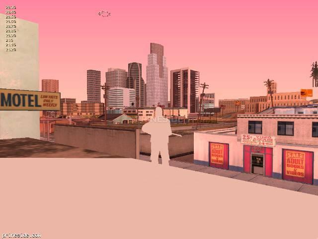 Просмотр погоды GTA San Andreas с ID 212 в 19 часов