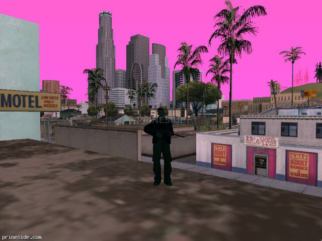 GTA San Andreas weather ID 212 at 7 hours