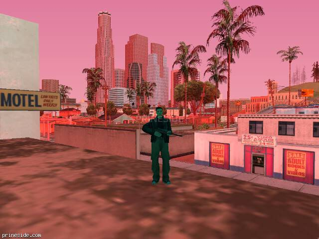 GTA San Andreas weather ID 213 at 16 hours