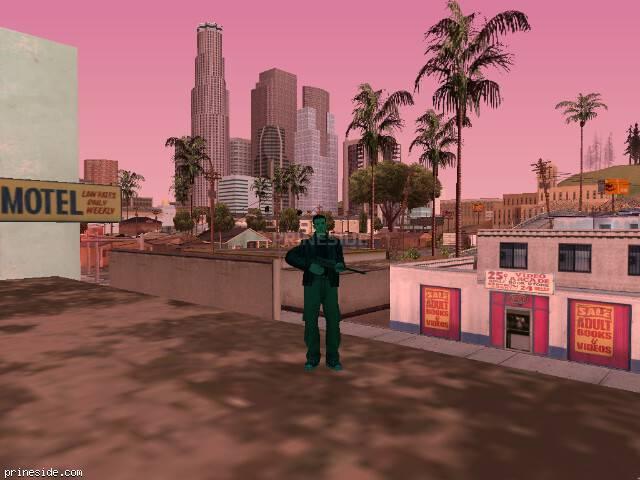Просмотр погоды GTA San Andreas с ID 213 в 17 часов