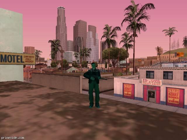 Просмотр погоды GTA San Andreas с ID 213 в 18 часов