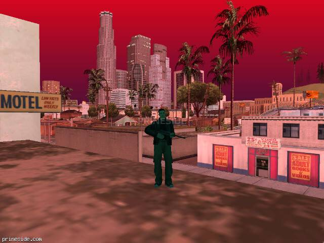 GTA San Andreas weather ID 213 at 20 hours