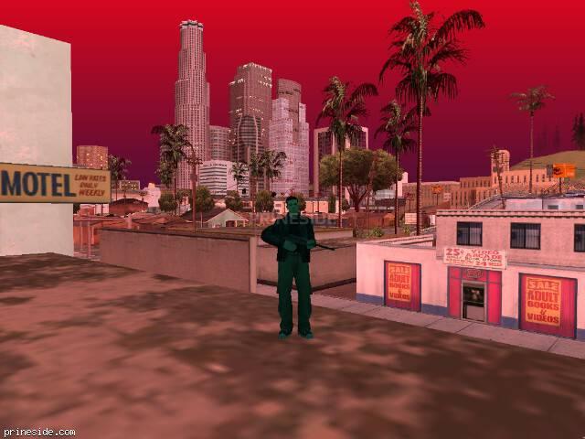 Просмотр погоды GTA San Andreas с ID 213 в 20 часов