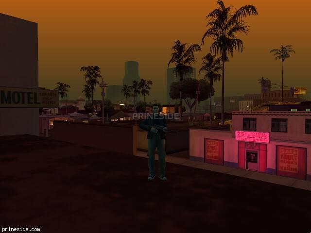Просмотр погоды GTA San Andreas с ID 213 в 21 часов
