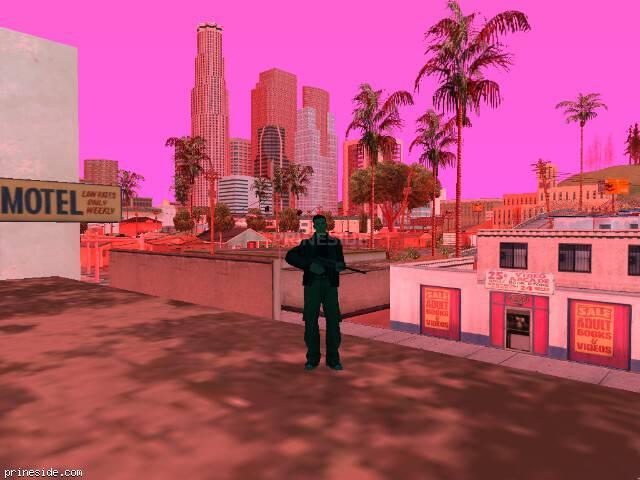 Просмотр погоды GTA San Andreas с ID 213 в 7 часов