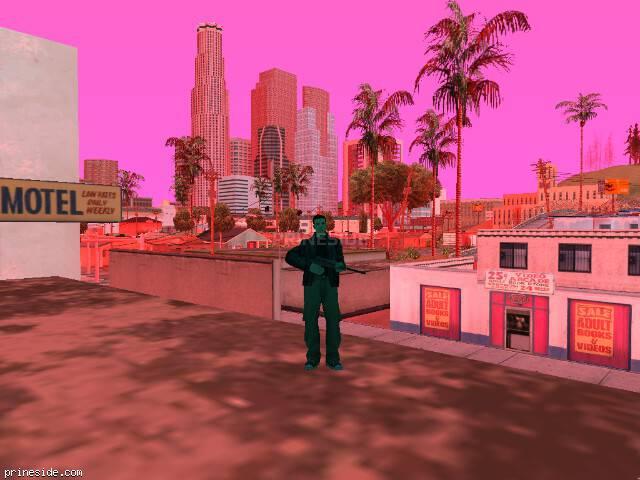 Просмотр погоды GTA San Andreas с ID 213 в 8 часов
