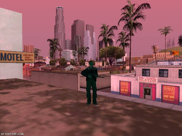 Просмотр погоды GTA San Andreas с ID 214 в 10 часов