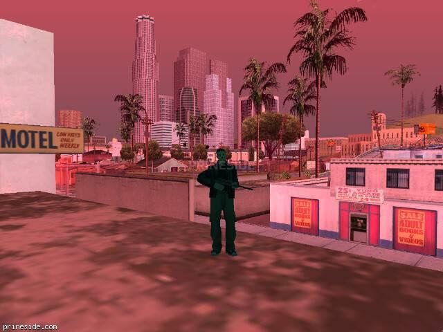 Просмотр погоды GTA San Andreas с ID 214 в 13 часов
