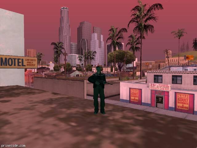 Просмотр погоды GTA San Andreas с ID 214 в 15 часов