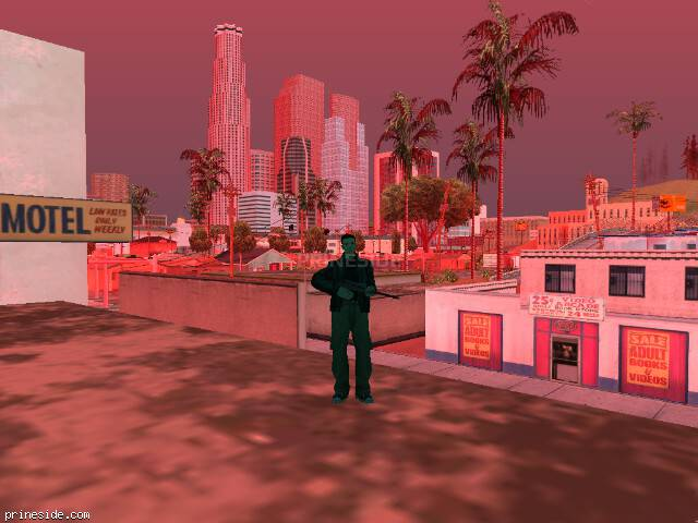 GTA San Andreas weather ID 214 at 16 hours