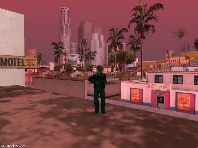 Просмотр погоды GTA San Andreas с ID 470 в 17 часов