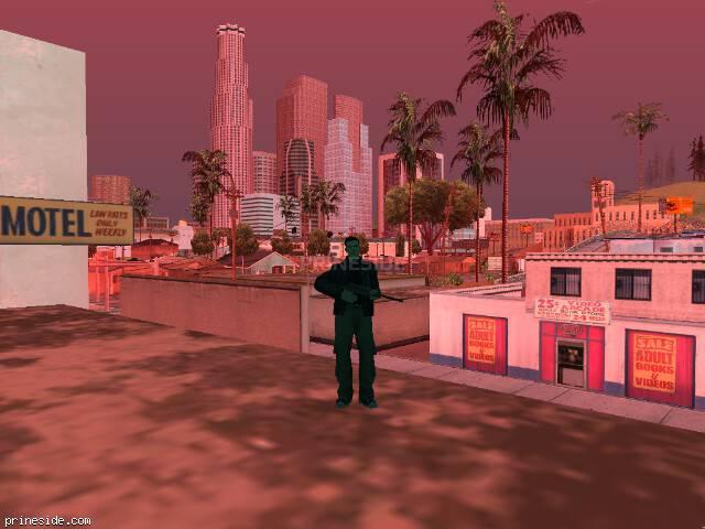 Просмотр погоды GTA San Andreas с ID 214 в 18 часов
