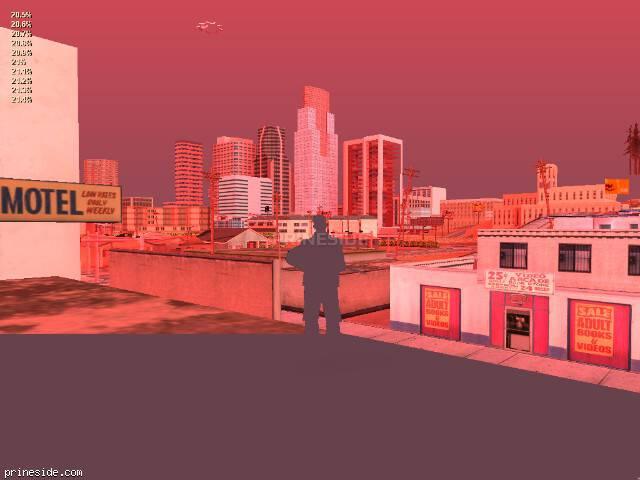 Просмотр погоды GTA San Andreas с ID 214 в 19 часов