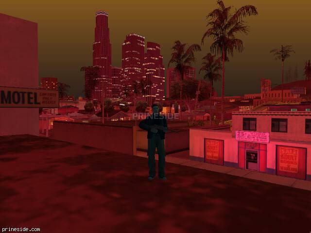 Просмотр погоды GTA San Andreas с ID 214 в 21 часов
