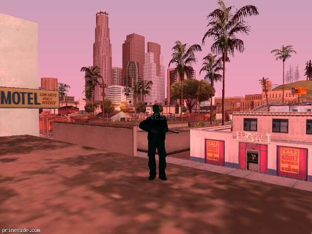 Просмотр погоды GTA San Andreas с ID 214 в 7 часов