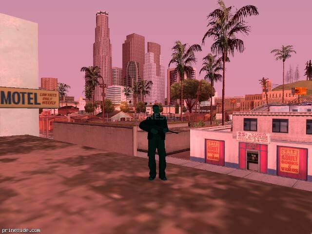 Просмотр погоды GTA San Andreas с ID 214 в 8 часов