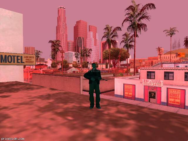 Просмотр погоды GTA San Andreas с ID 214 в 9 часов