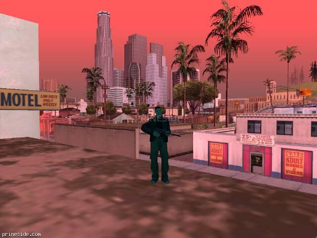 Просмотр погоды GTA San Andreas с ID 215 в 13 часов