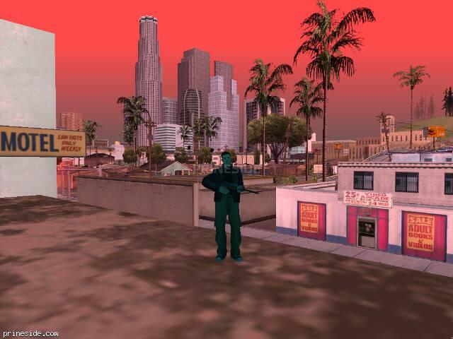Просмотр погоды GTA San Andreas с ID 215 в 16 часов