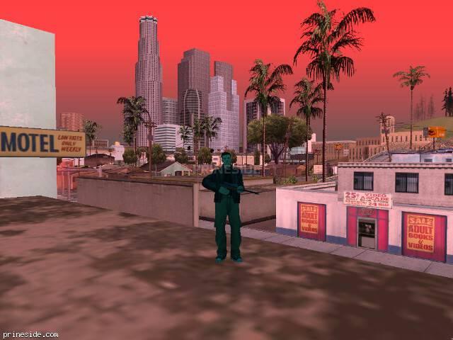 Просмотр погоды GTA San Andreas с ID 215 в 17 часов