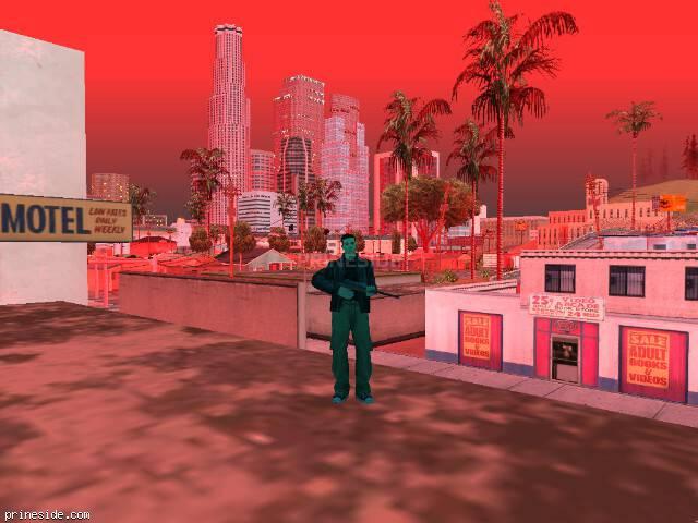 Просмотр погоды GTA San Andreas с ID 215 в 20 часов