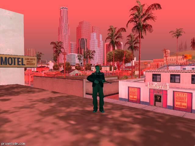Просмотр погоды GTA San Andreas с ID 215 в 8 часов