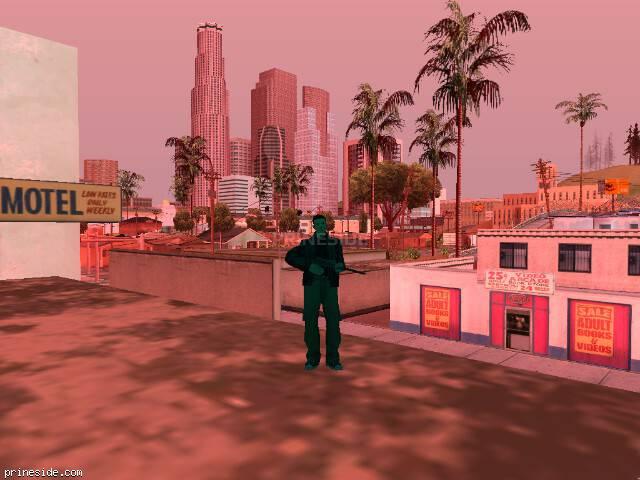 Просмотр погоды GTA San Andreas с ID 216 в 10 часов