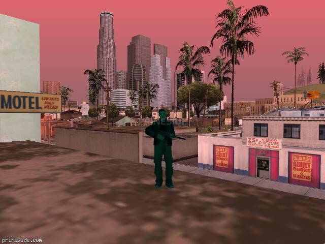 Просмотр погоды GTA San Andreas с ID 216 в 14 часов