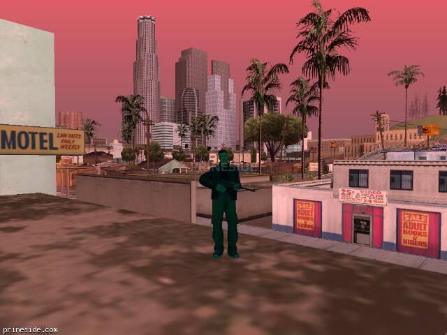 Просмотр погоды GTA San Andreas с ID 216 в 15 часов