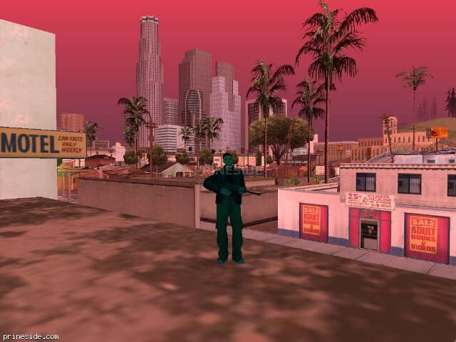 Просмотр погоды GTA San Andreas с ID 216 в 18 часов