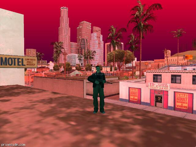 Просмотр погоды GTA San Andreas с ID 216 в 20 часов
