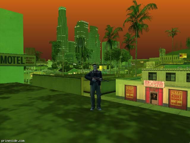 Просмотр погоды GTA San Andreas с ID 216 в 21 часов