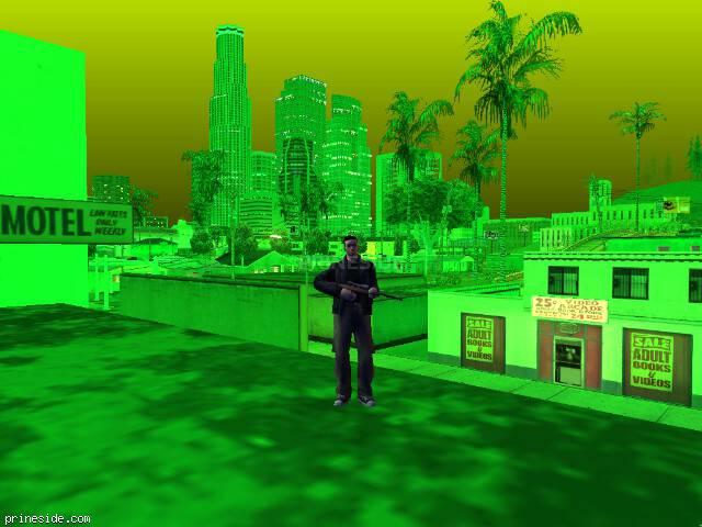 Просмотр погоды GTA San Andreas с ID 216 в 22 часов