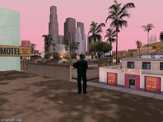 Просмотр погоды GTA San Andreas с ID 216 в 7 часов