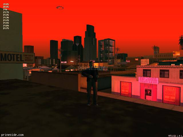 GTA San Andreas weather ID 217 at 0 hours