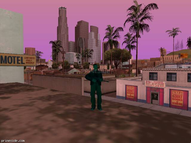GTA San Andreas weather ID -295 at 13 hours