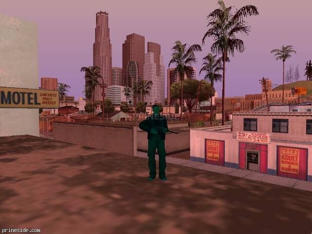 GTA San Andreas weather ID 217 at 15 hours