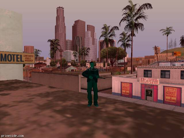 GTA San Andreas weather ID 217 at 16 hours