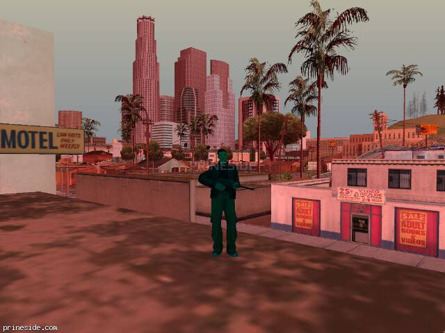 GTA San Andreas weather ID 217 at 17 hours