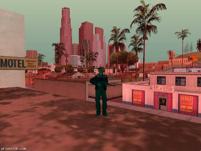 GTA San Andreas weather ID -551 at 18 hours