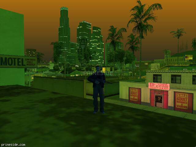 GTA San Andreas weather ID 217 at 21 hours