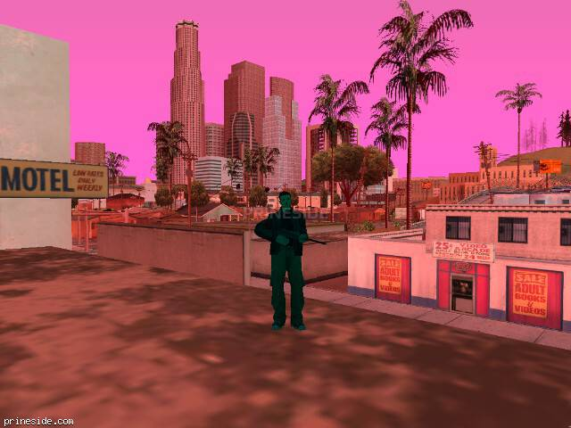 GTA San Andreas weather ID 217 at 9 hours