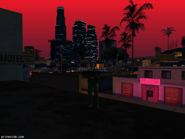 GTA San Andreas weather ID -805 at 0 hours